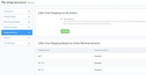 Catch Marketplace - Shipping Configuration